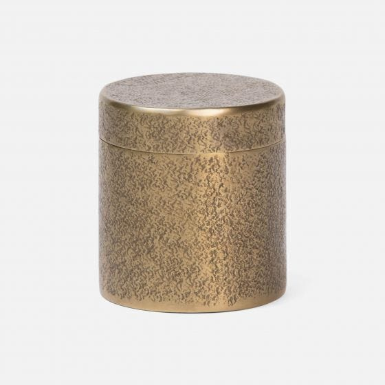 Antique Brass Pitted Metal