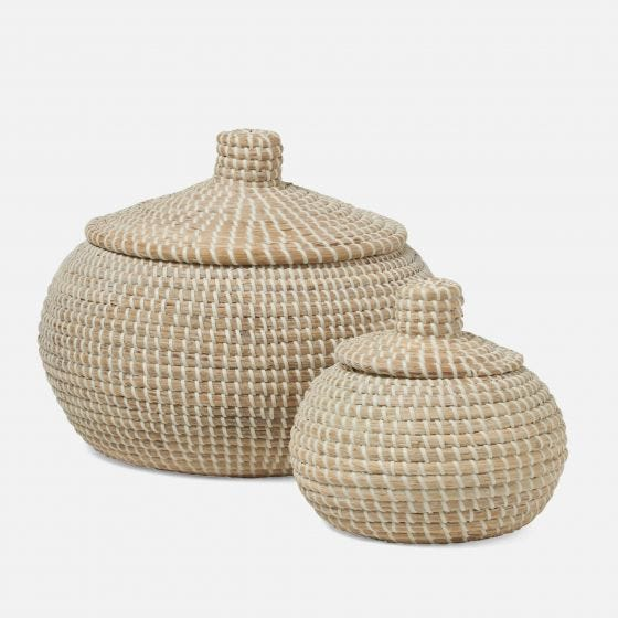 Roslyn Round Baskets