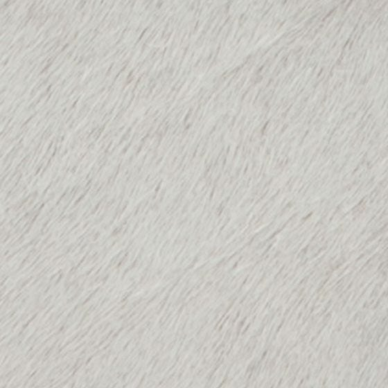 White Hair-on-hide Swatch