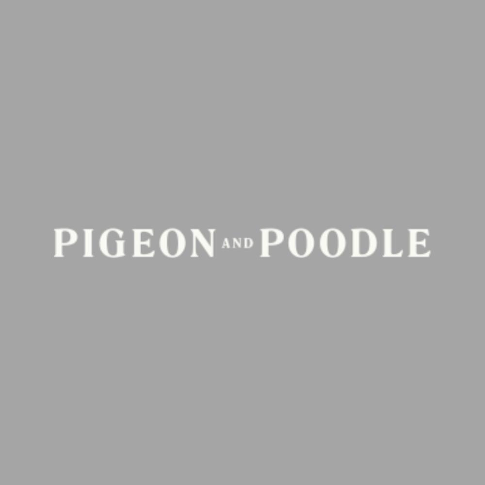 Metallic Denim Faux Linen Swatch