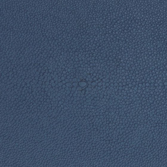 Navy Realistic Faux Shagreen Swatch