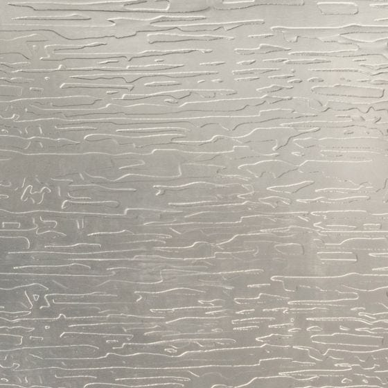 Shiny Nickel Wavy Etched Stainless Steel
